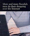 """""""De plus en plus d'hommes font leur shopping par Internet"""""""
