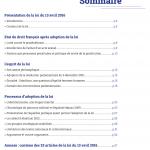 Brochure CAP sommaire